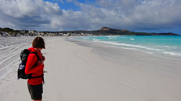 Lucky Bay Cape Le Grand Nationalpark Esperance
