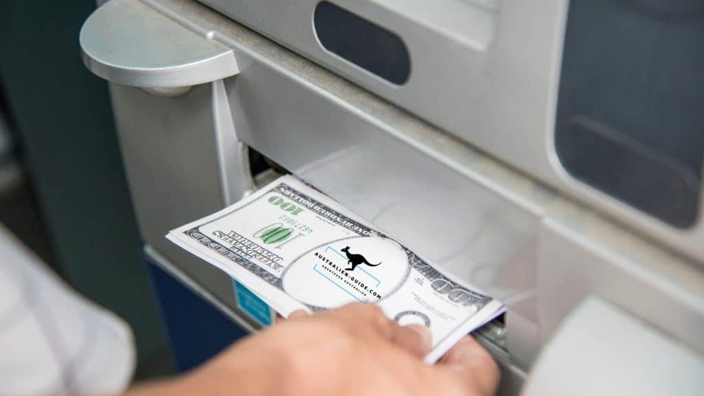 Geld abheben Australien