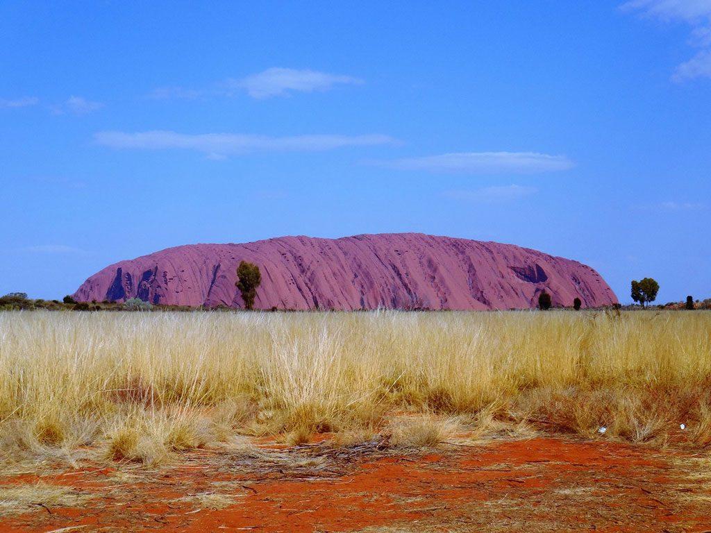 Ausblick auf den Uluru