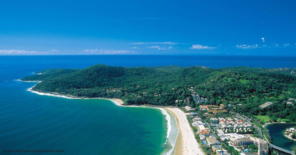 Noosaville an der Sunshine Coast