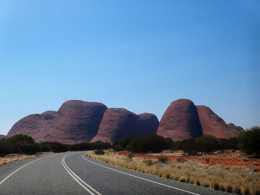 Blick auf die Olgas, Uluru Australien