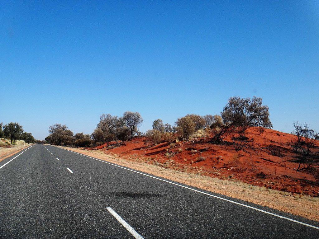 Ulur Kata Tjuta Nationalpark, Ayers Rock, Australien