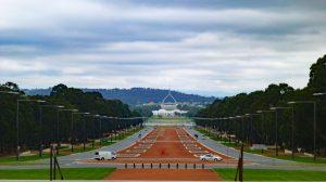 Anzac Parade, Parliament House, Canberra