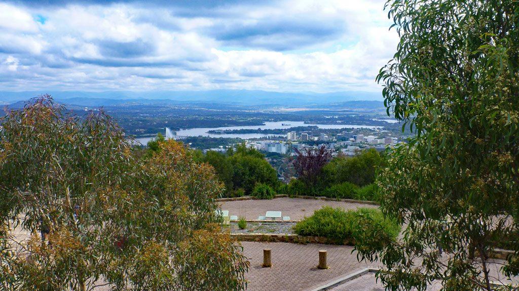 Ausblick Mount Ainslie, Canberra