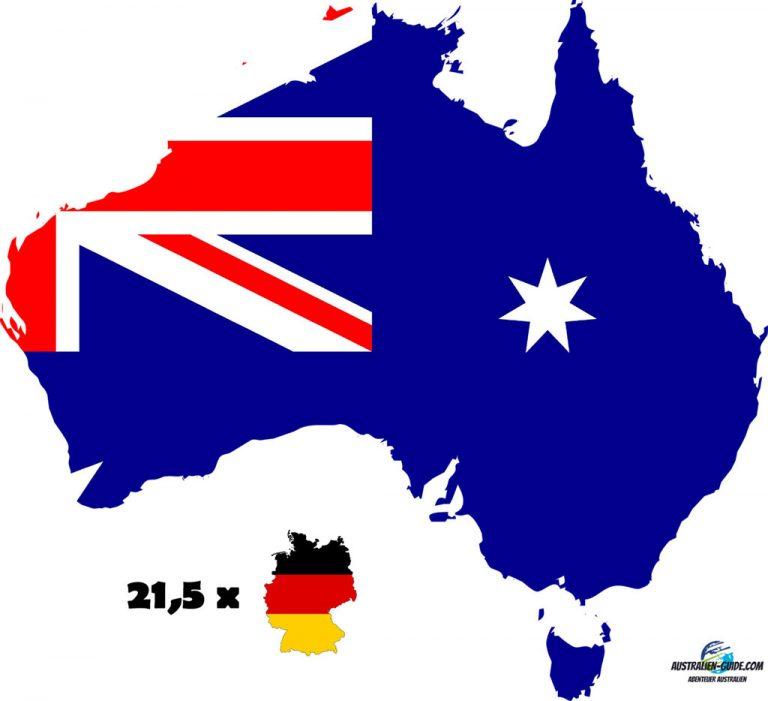 Deutschland im Vergleich zu Australien