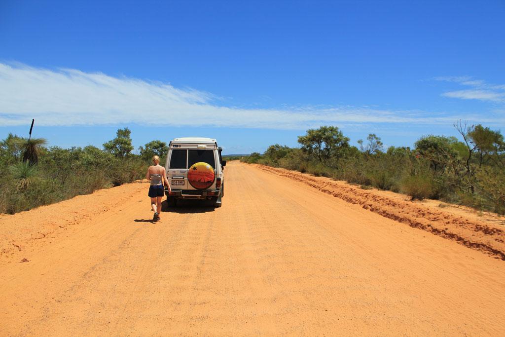 dirt road Australien