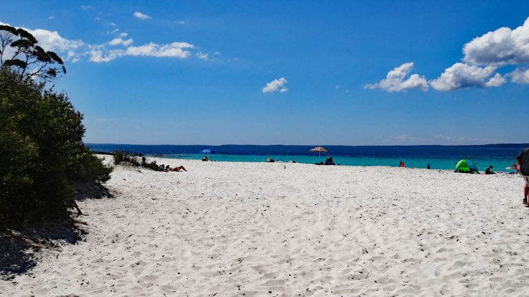 Hyams Beach in der Jervis Bay