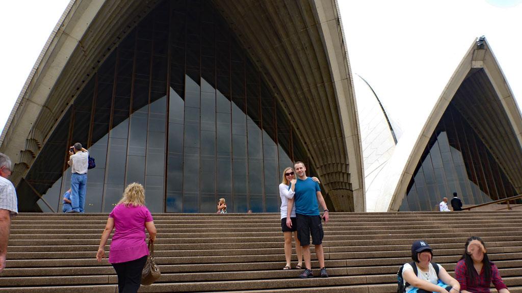 Sydney Opera House Ivonne & Adam