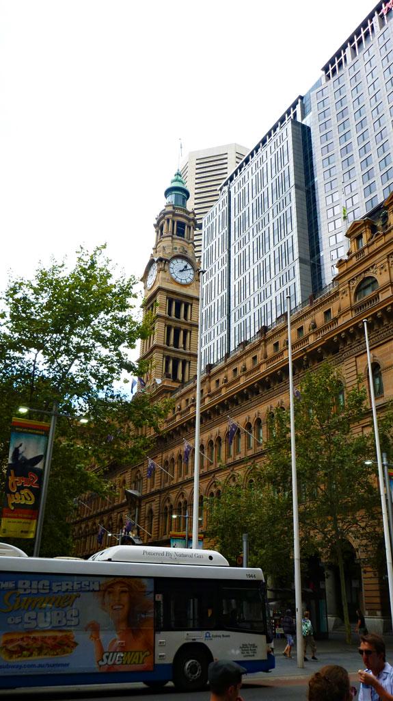 Sydney Innenstadt Mix Alt/Neu