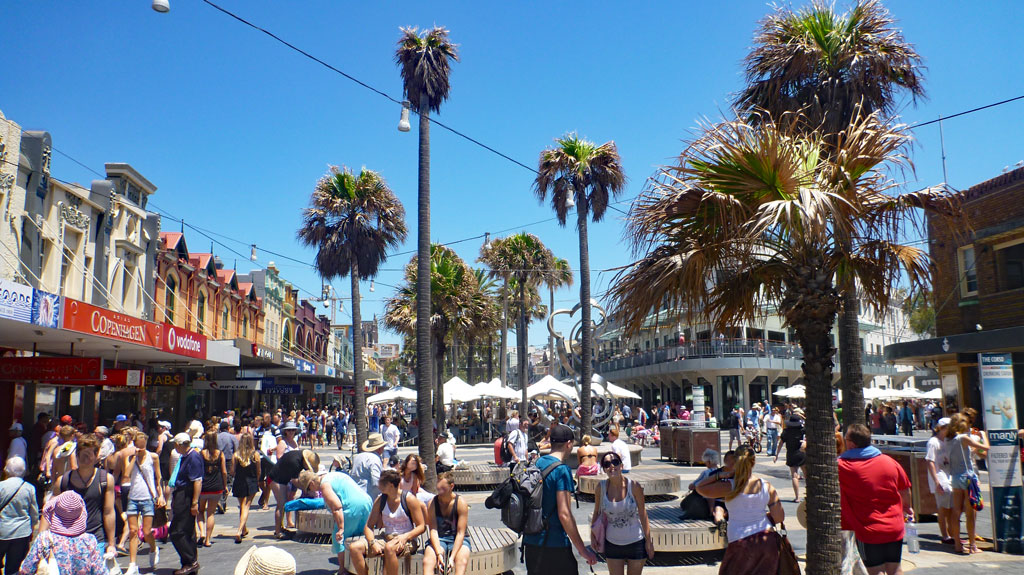 The Corso in Manly