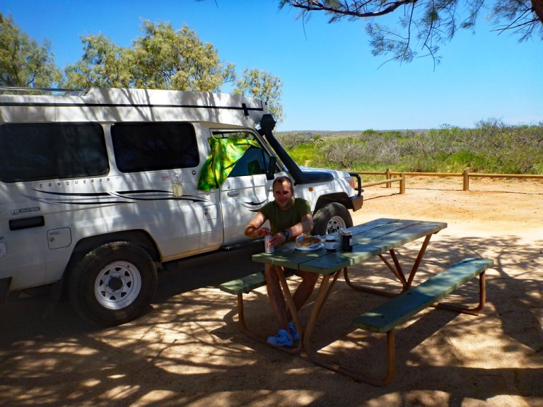 Picknick im Cape Range Nationalpark