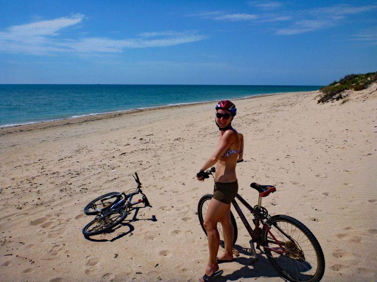 Fahrrad fahren in Exmouth