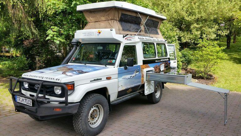 Boomerang Reisen - Geländewagen Infotag