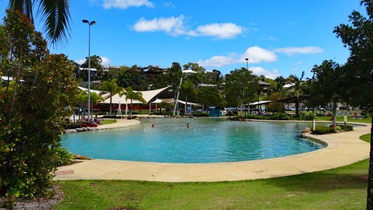 Airlie Beach Lagoon, Queensland Australien