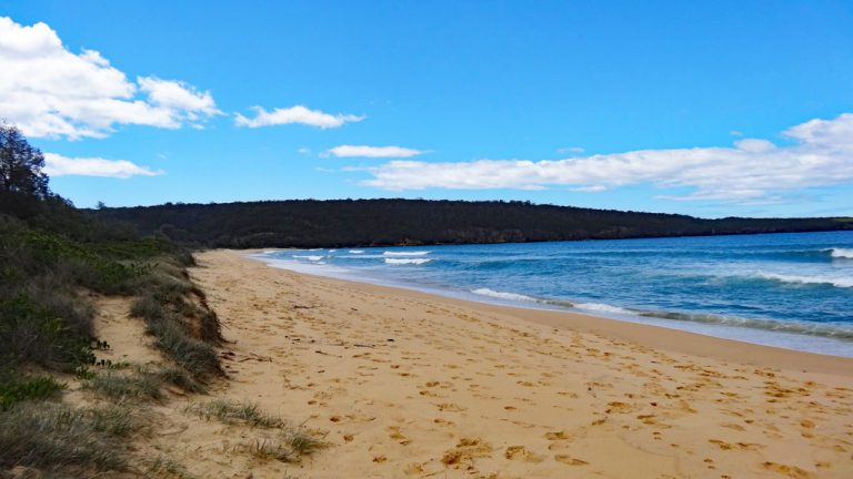Aslings Beach, Eden, New South Wales, Australien
