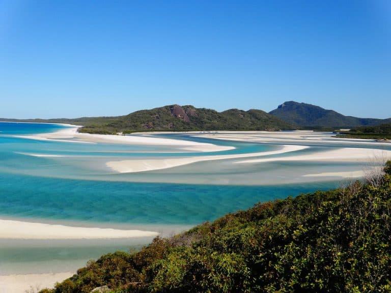 Whitehaven Beach, Whitsunday Islands, Australien