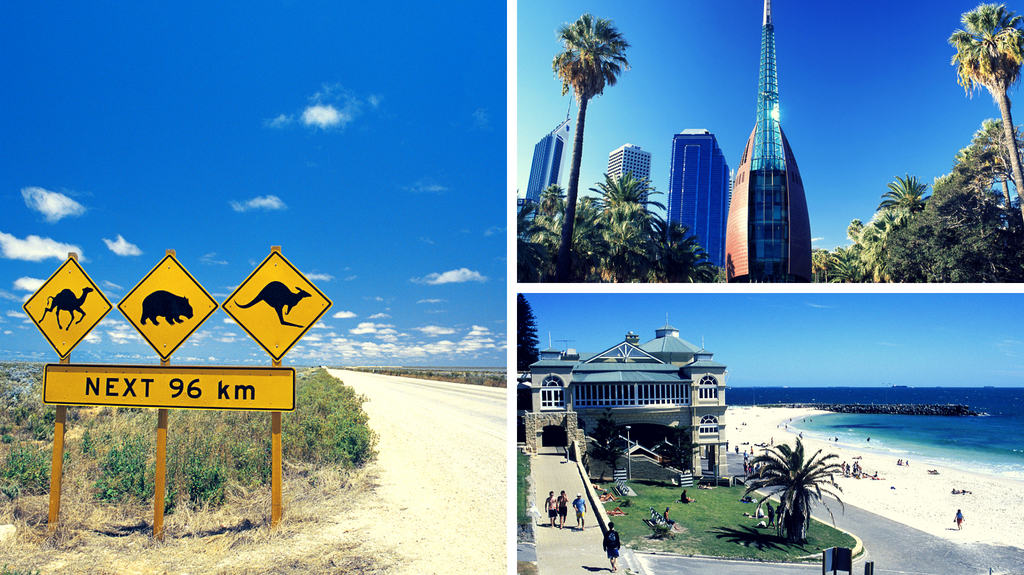 Australien Rundreise - Perth richtung Südwesten