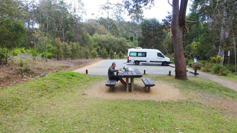 Frühstück im Eungella Nationalpark