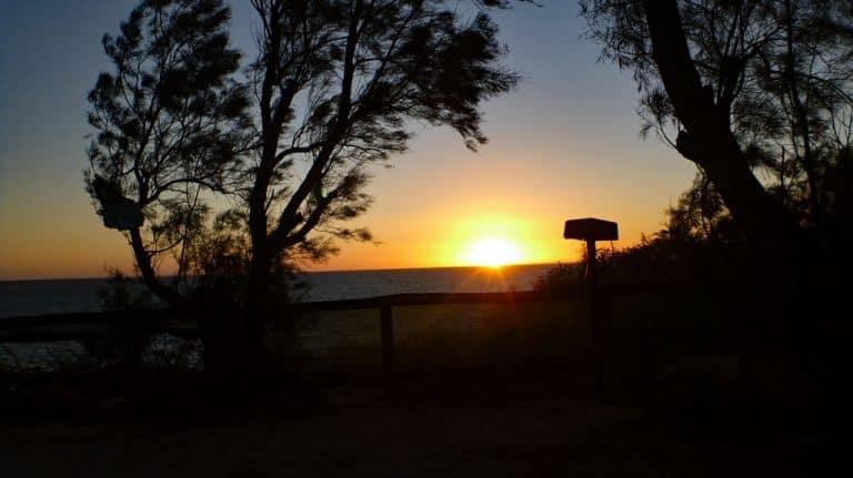 Denham, Campsite, Shark Bay, Western Australia