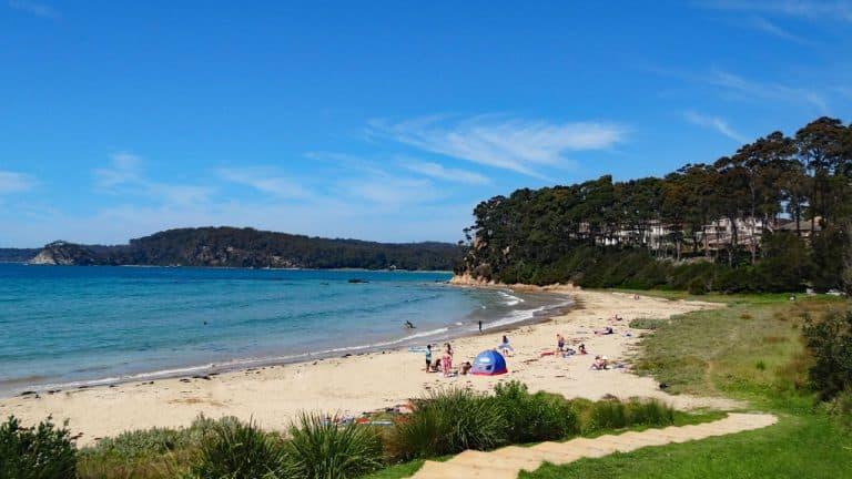 Denhams Beach, New South Wales, Australien
