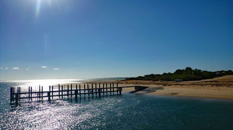 Monkey Mia, Resort, Shark Bay, Western Australia
