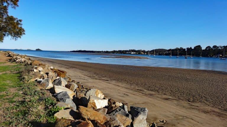 North Beach Batemans Bay, New south Wales, Australien