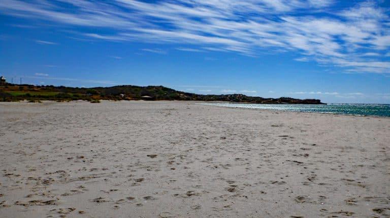 Strand Blue Holes, Kalbarri Nationalpark, Westküste Australien