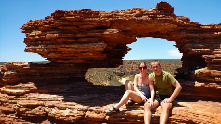 Natures Window im Kalbarri Nationalpark, Westküste Australien