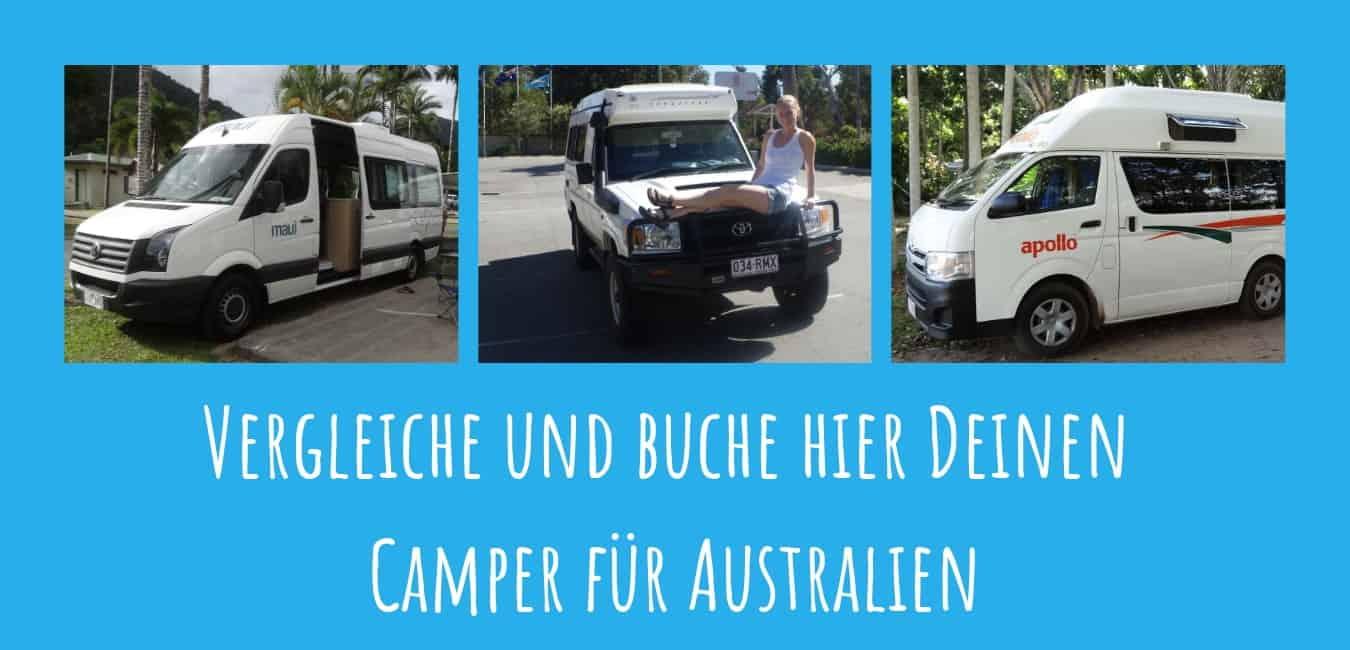 Camper buchen Australien