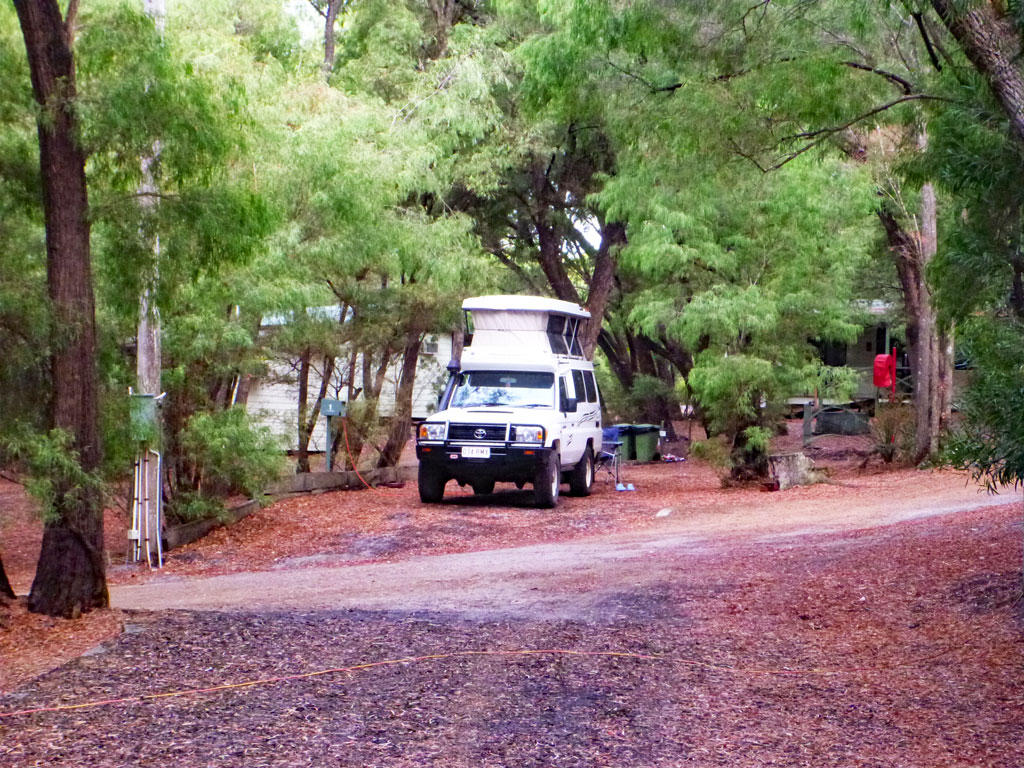 Pemberton - Campsite - Highlights Südküste Australien