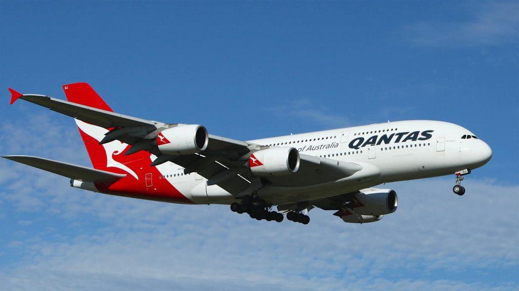 Inlandsflug Australien - Qantas