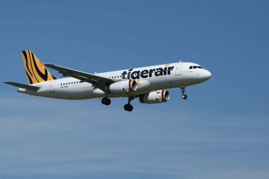 Inlandsflug Australien - Tigerair