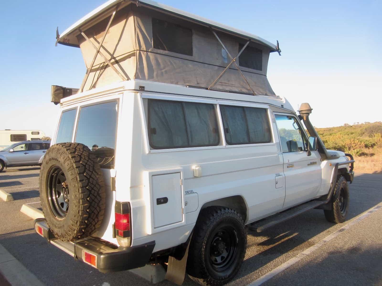 Bonito Toyota Landcruiser Bushcamper
