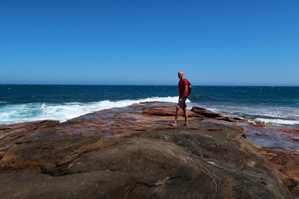 Küste Kalbarri, Rainbow Valley, Australien, wandern