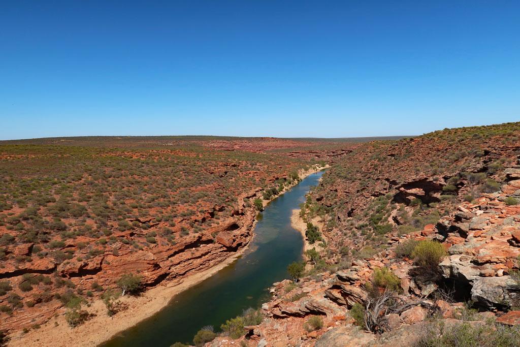 Murchison River, Kalbarri Nationalpark, Australien