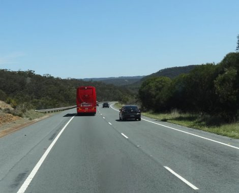 Greyhound-Bus, Australien
