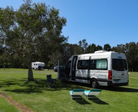 Campingplätze Australien Stellplatz in Forster