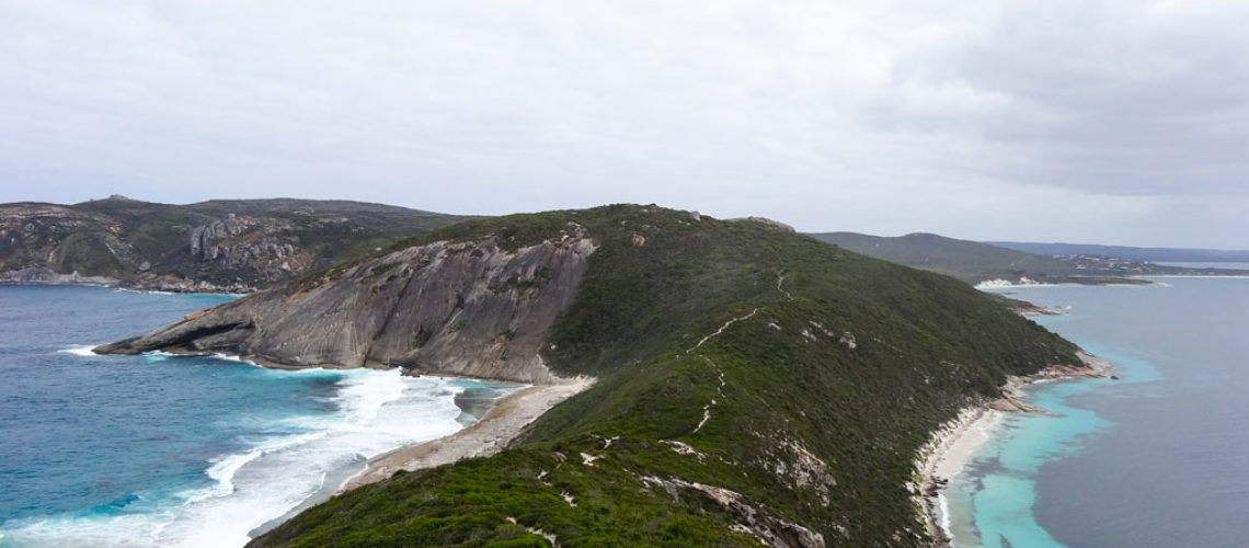 Wanderweg Bald Head Peak